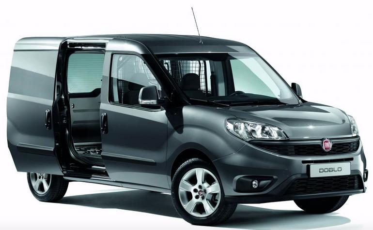Gewerbe-Leasing: Fiat Doblo Lagerwagen (Klima, PDC) für 89,13€ mtl. (LF: 0,45)