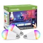 3er Pack Novostella smarte E27 Lampen mit WLAN für 40,50€ inkl. VSK