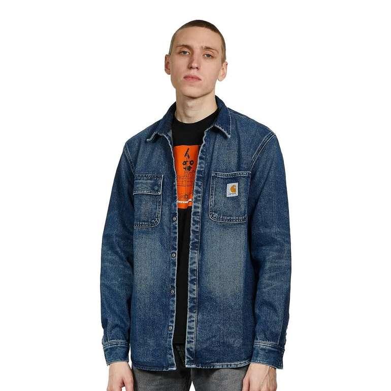 "Carhartt WIP Salinac Shirt Jacket ""Mableton"" Blue Denim für 48,97€ inkl. Versand (statt 68€)"