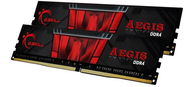 G.Skill Aegis 16GB Kit DDR4-3000 CL16 für 75,85€ (statt 85€) - Paydirekt!