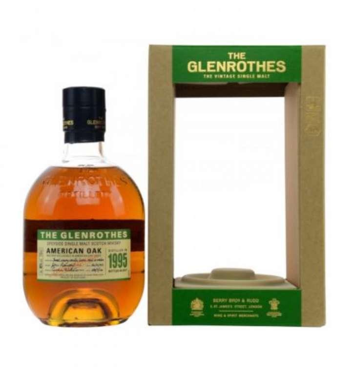 The Glenrothes 1995 American Oak Whisky (700ml) für 59,90€ inkl. Versand (statt 80€)
