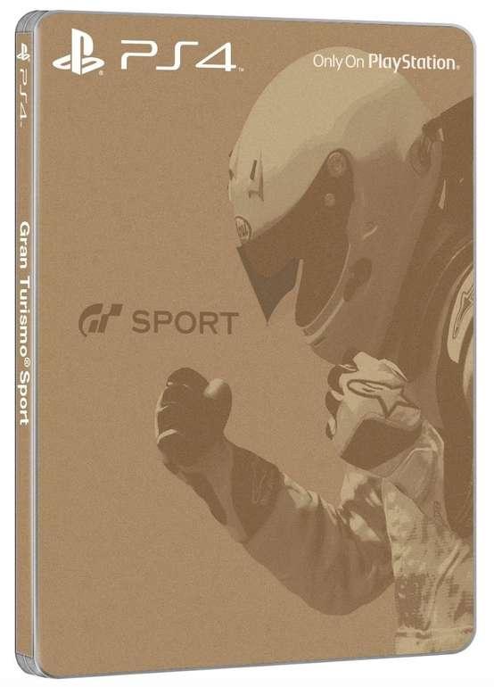 Gran Turismo: Sport (Steelbook Edition) - PlayStation 4 für 23,50€ inkl. Versand (statt 32€)
