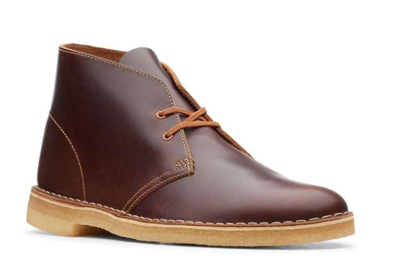 Clarks Desert Boot Schuhe in hellbraun für Herren für 69,95€ inkl. Versand (statt 99€)