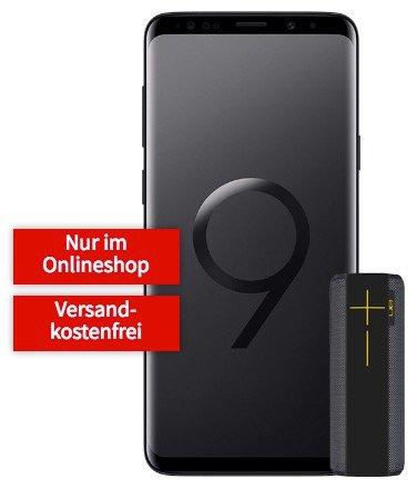Galaxy S9+ mit UE Megaboom für 49€ + 2GB Vodafone Allnet für 26,99€/Monat