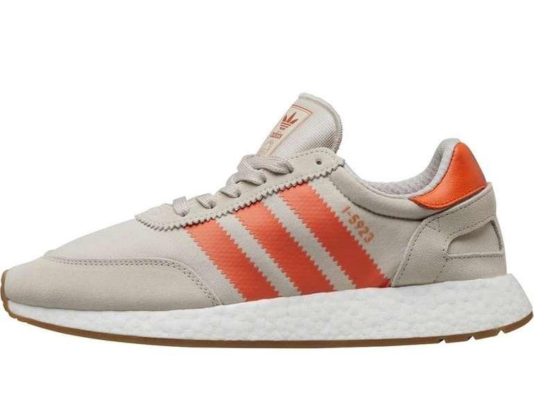 Adidas Originals Herren Sneaker I-5923 in Hellsteingrau/Orange für 44,44€ inkl. VSK