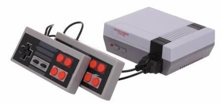 Gadget: Mini-TV-Retro-Videospielkonsole (NES Clone) mit 620 Spielen für 13,30€