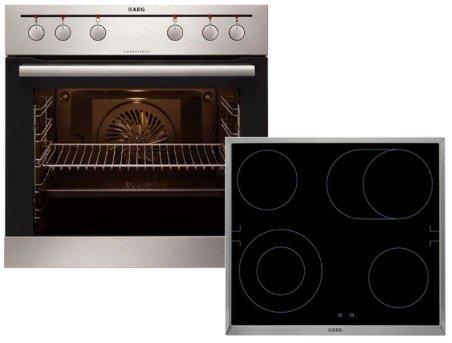 AEG EEMX321210 Einbauherd-Set mit Keramik Kochfeld für 448€ (statt 598€)