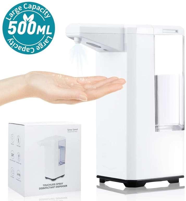Joyxeon automatischer Desinfektionsspender mit 500 ml Fassungsvermögen für 27,59€ inkl. Versand (statt 44€)