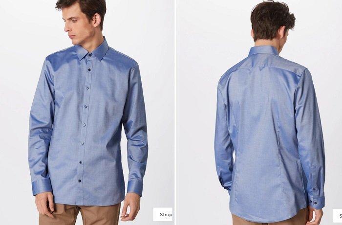 OLYMP No. Six Herren Hemd aus hochelastischem Baumwoll-Stretch 2