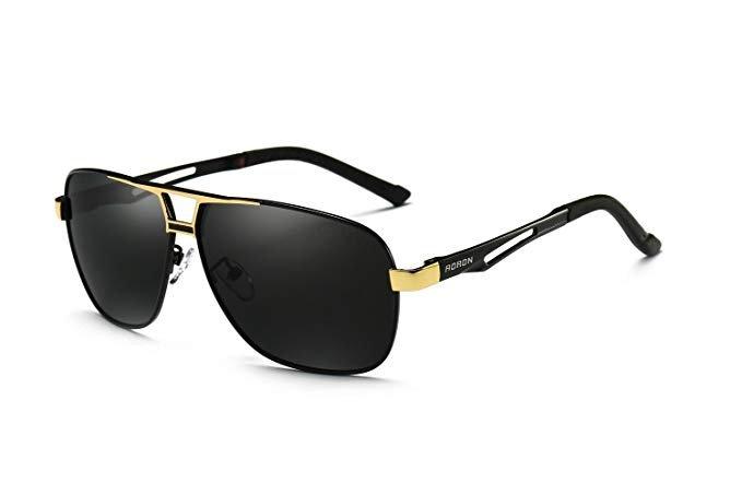 Aoron polarisierte Herren Pilotenbrille (2 Modelle) für je 8€ inkl. Prime Versand