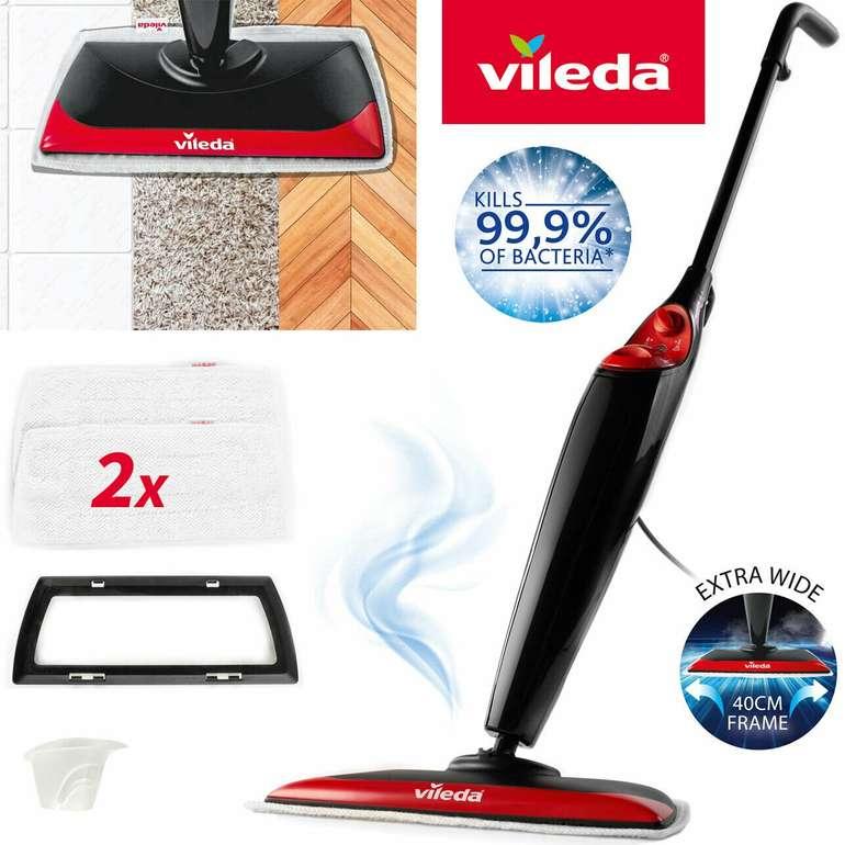 Vileda Steam XXL Dampfreiniger inkl. Teppichgleiter für 65€ inkl. Versand (statt 74€)