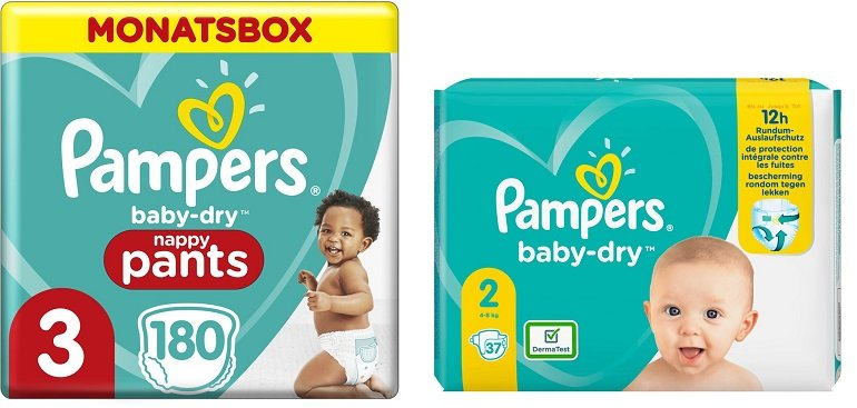 Windeln.de Pampers Rabatt