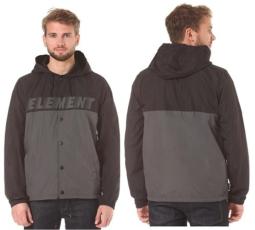 "Element ""Hooded Coach"" Übergangsjacke für 38,36€ inkl. VSK (statt 57€)"