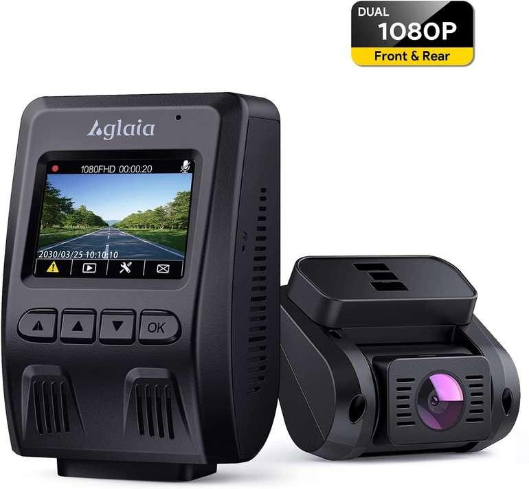 Aglaia Dual Dashcam Autokamera für Vorne und Hinten (1080P, 170°) für 59,99€ inkl. Versand (statt 100€)