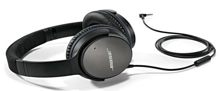 Bose QuietComfort 25 Noise-Cancelling Kopfhörer für 124,89€ (statt 139€)