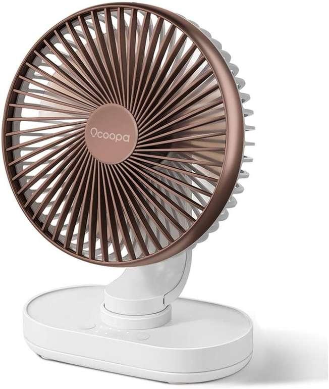 Ocoopa wiederaufladbarer Ventilator für 13,48€ inkl. Prime Versand (statt 23€)