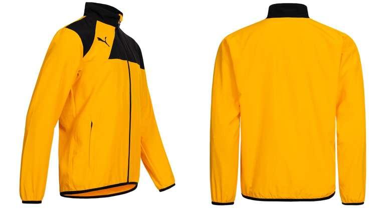 Puma Esquadra Woven Trainingsjacke in gelb für 10,61€ inkl.…