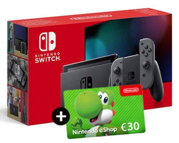 Nintendo Switch (1,99€) + 30€ eShop Gutschein + Otelo (10GB LTE, Allnet- & SMS-Flat) für 19,99€ mtl.