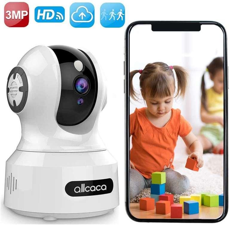 Allcaca IP WLAN Überwachungskamera (Bewegungserkennung, Nachtsicht) für 20,70€ inkl. Versand (statt 40€)