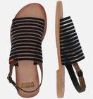 Levi's Damen Sandale 'Shastina' in schwarz für 36,37€ inkl. VSK (statt 60€)