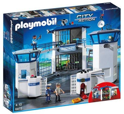 Playmobil City Action Polizei-Kommandozentrale mit Gefängnis 6872 für 48,44€