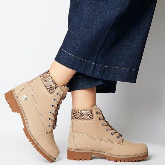 Großer Boots- & Stiefel-Sale im Office-London Shop, z.B.  Timberland Slim Premium 6 Inch Damen Boots für 85€