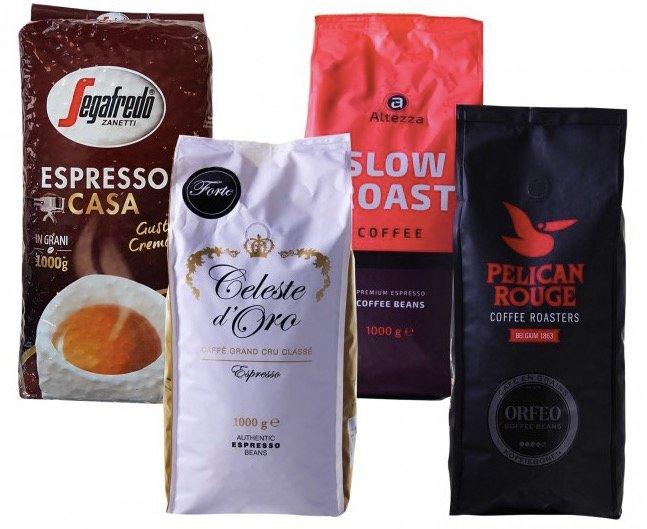 4kg Kaffeebohnen-Quartett (versch. Sorten) für 43,94€ inkl. Versand