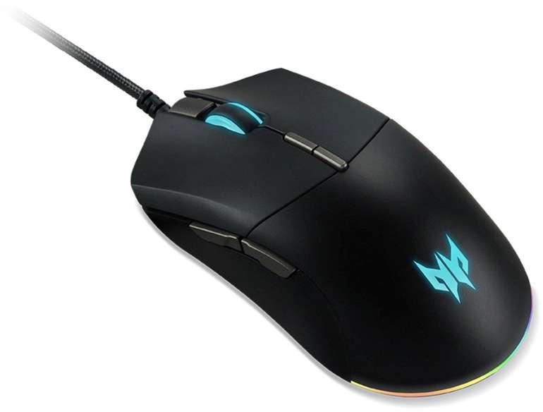 Acer Predator Cestus 330 Gaming-Maus für 39,98€ inkl. Versand (statt 58€)