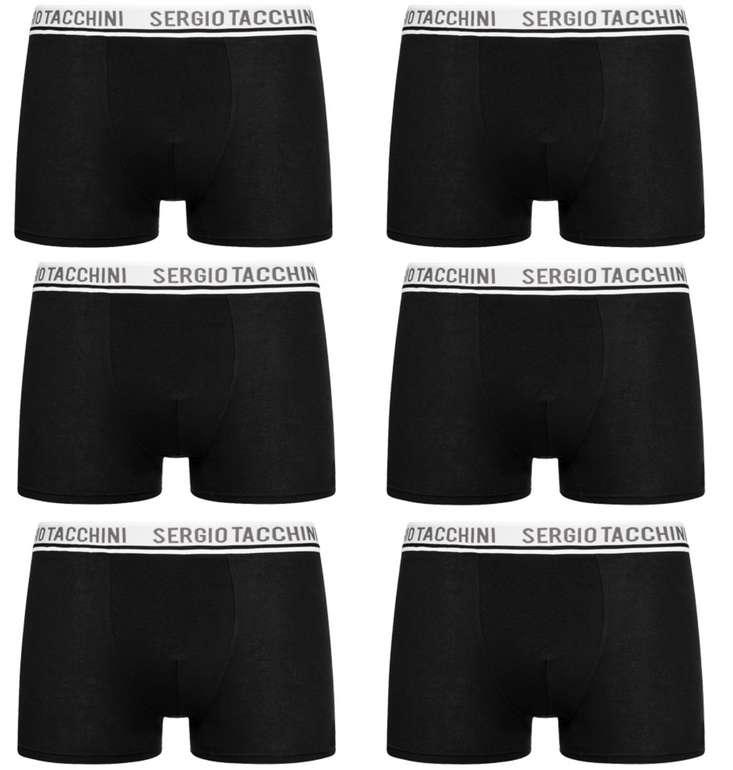 6er Pack Sergio Tacchini Herren Boxershorts (versch. Farben) für 23,94€ inkl. Versand (statt 41€)
