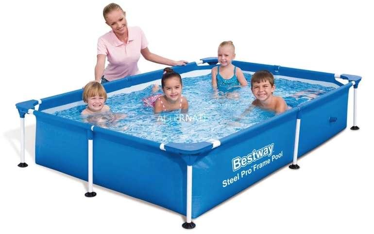 Bestway Kinder-Pool Steel Pro Frame-Pool (221 x 150 cm) für 44,98€ inkl. Versand (statt 50€)