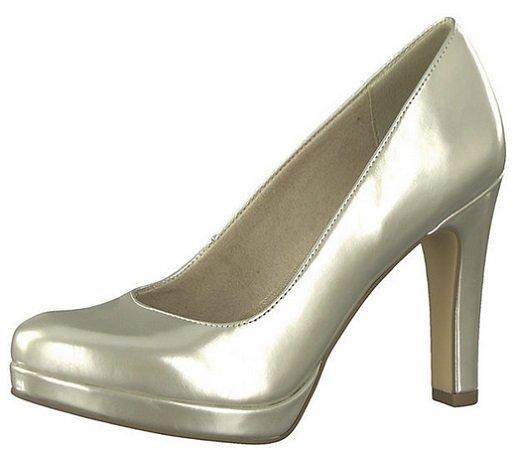Mirapodo mit 20% Rabatt auf Schuhe im Metallic-Look z.B. Tamaris Pumps zu 31,96€