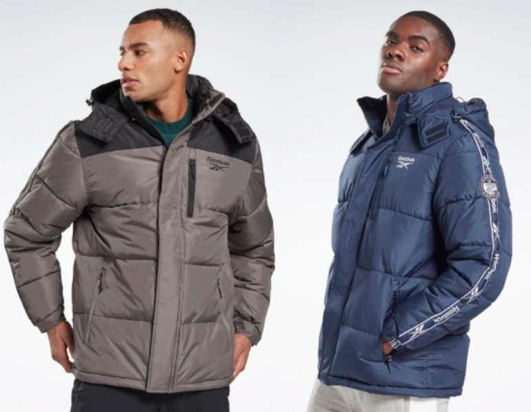 Reebok Winter Puffer Jacke in 3 vers. Farben zu je 48€ inkl. Versand (statt 100€)