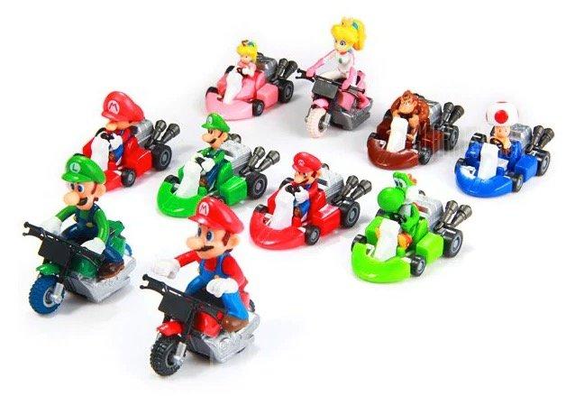 10 Figuren aus Super Mario Kart für nur 8,28€ inkl. Versand