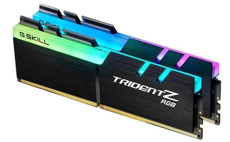G.Skill DIMM 16 GB DDR4-3200 Kit, Arbeitsspeicher für 83,85€ - Mastercard!