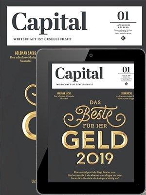 Capital Print + Digital Jahresabo für 111,96€ + 85€ Amazon Gutschein