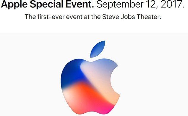Apple Keynote mit Livestream zur Vorstellung der neuen Produkte