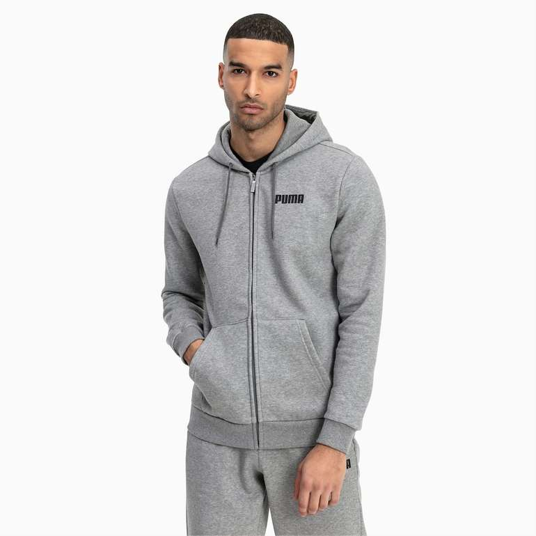 Puma Essentials Herren Fleece Sweatjacke für 27,96€ inkl. Versand (statt 35€)