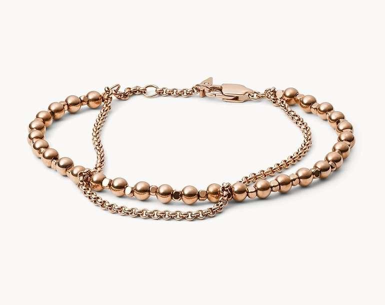 Fossil Damen Armband Multi-Beaded (JA6776791) für 15,30€ inkl. Versand (statt 36€)
