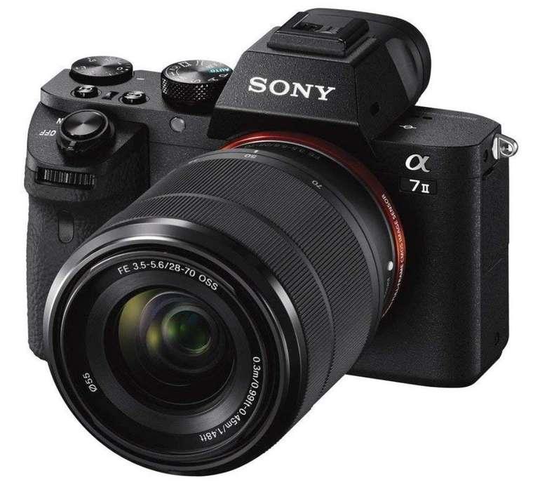 Sony Alpha 7 M2 Kit (ILCE-7M2K) WLAN Systemkamera (24.3 MP + Objektiv 28-70 mm) + 100€ Gutschein für 889€ inkl. Versand