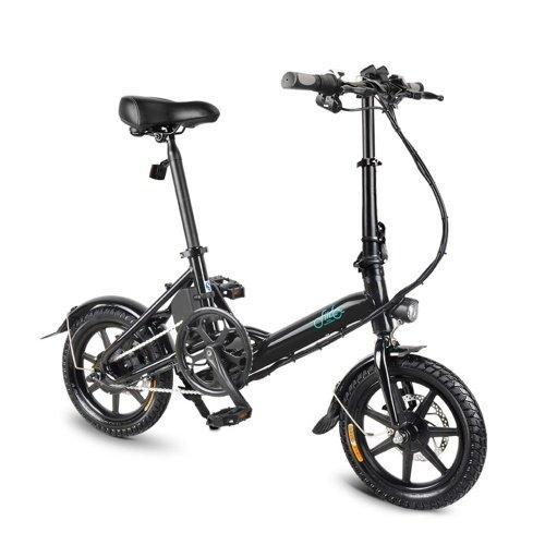 Fiido D3 - 14 Zoll Klapp Fahrrad bzw. E-Bike (36V, 7,8 Ah, bis 25 km/h) für 428,16€