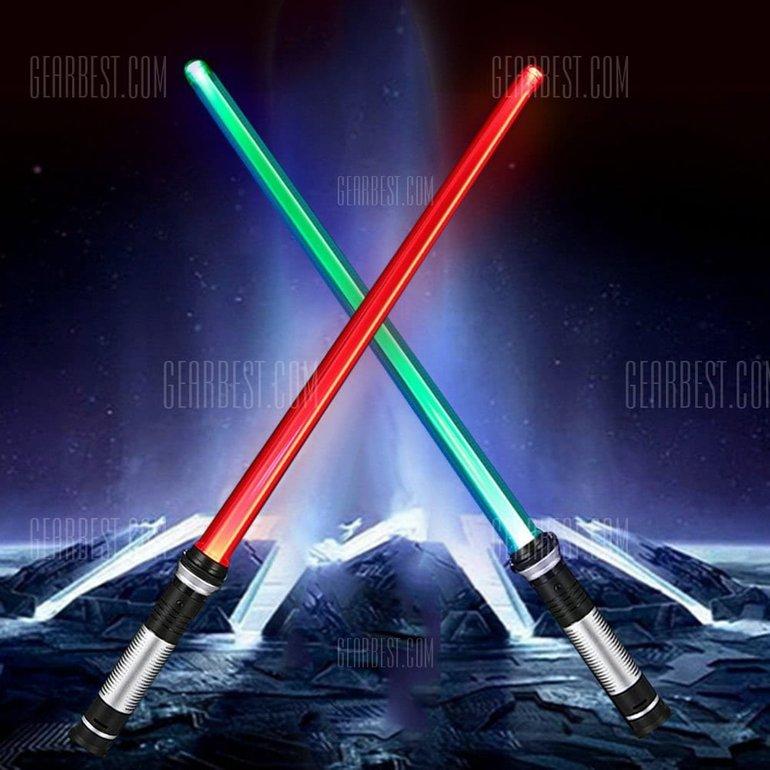 2 YWXLight Double Sided RGB LED Lightsaber (Lichtschwerter) für 6,54€