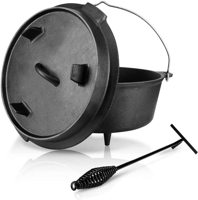 Einfeben Dutch Oven mit 7,7 Liter Füllmenge aus Gusseisen für 34,79€ inkl. Versand (statt 55€)