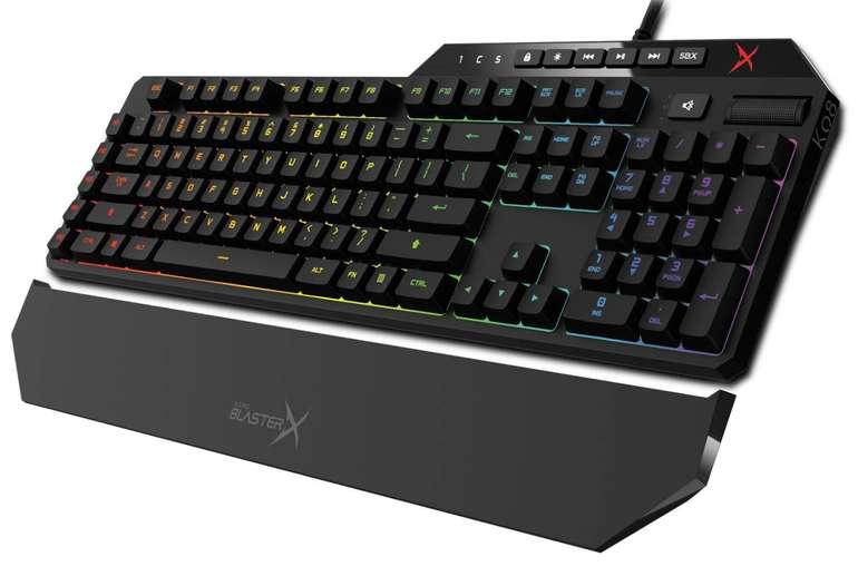Creative Sound BlasterX Vanguard K08 Gaming Tastatur für 53,99€ inkl. Versand