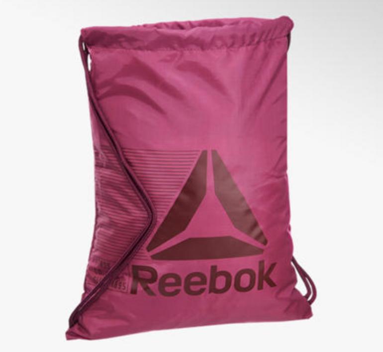 Reebok Turnbeutel in pink für 6,95€ inkl. Versand (statt 10€)