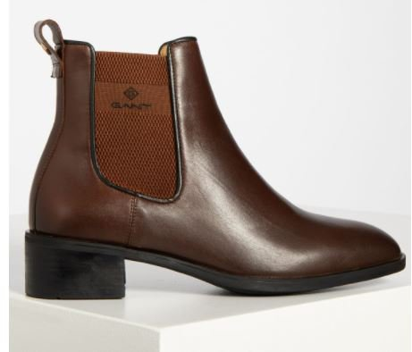 Gant Chelsea Boots Dellar in Braun für 81,55€ inkl. Versand (statt 126€)
