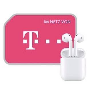 Apple AirPods (1€) + 10GB Telekom LTE Datentarif für 15,99€ monatlich