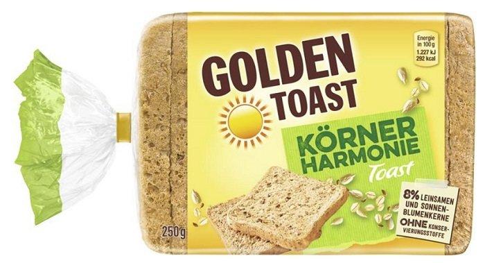 Fehler? Golden Toast Körner Harmonie für nur 0,06€ + VSK