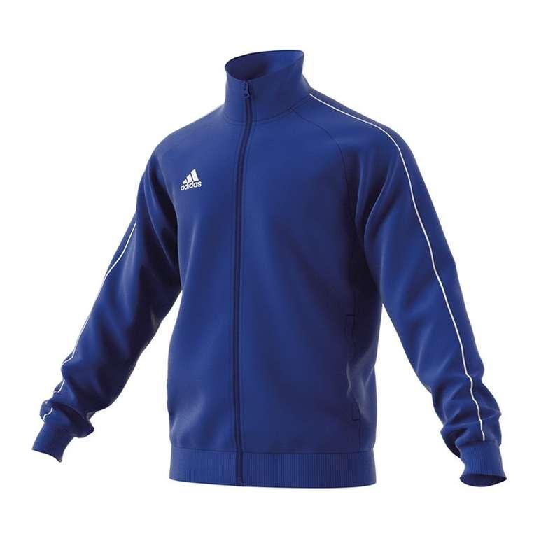 adidas Core 18 Polyesterjacke in Blau für 13,56€ (statt 19€)