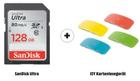 Sandisk Ultra SDXC 128 GB, 80 MB/s + ISY Kartenlesegerät für 19€ (statt 32€)