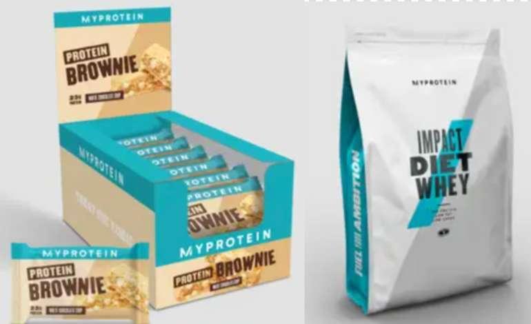 MyProtein: 2 für 1 Aktion + (ggf. 38% Rabatt) - z.B 1 KG Impact Native Whey Isolat + 12er Protein Box für 24,99€